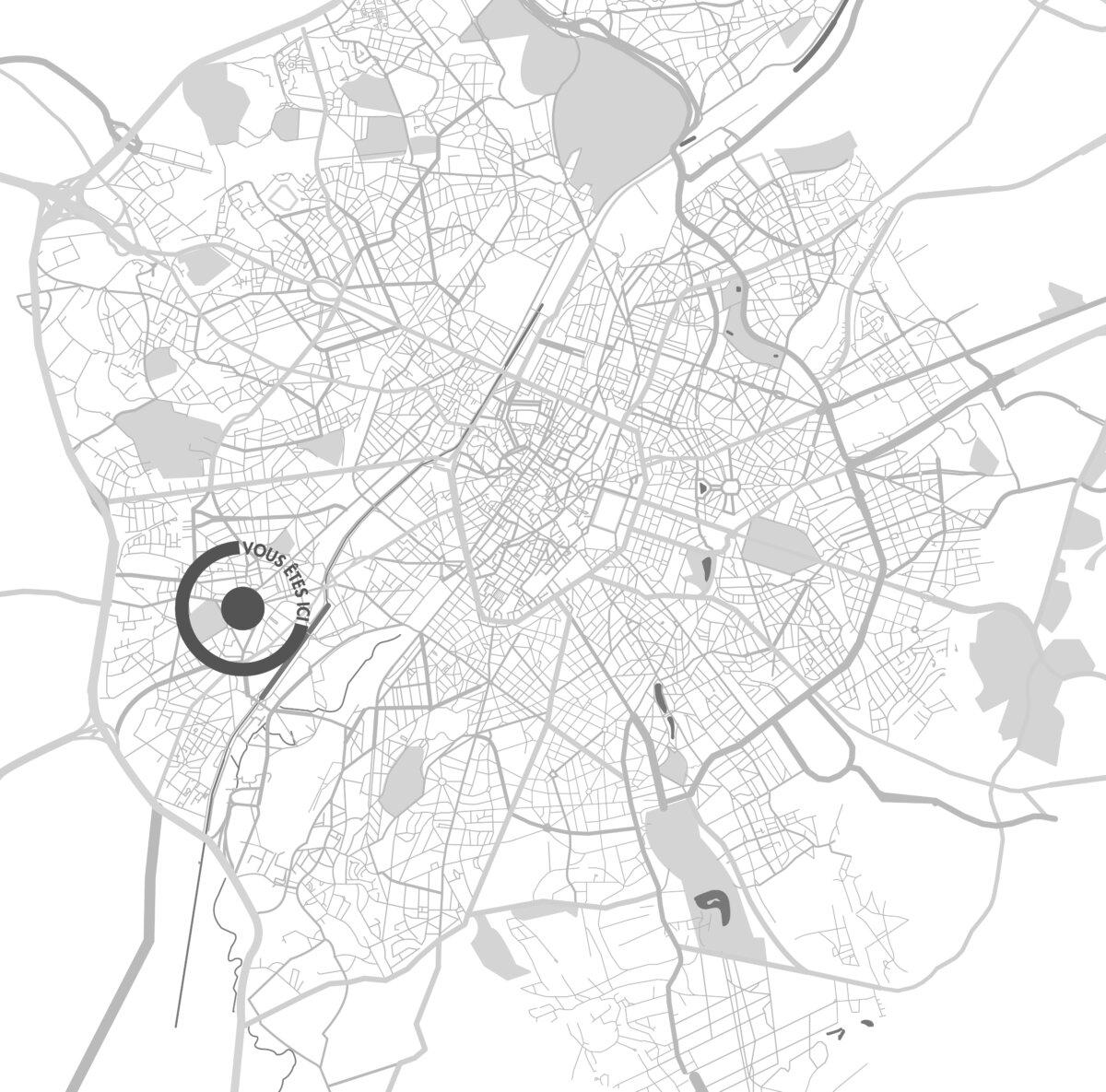 RdVArchitects localisation Bruxelles